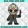Chibi Jason Svg, Horror Movies Svg, Horror Character Svg, Halloween Svg, Silhouette, Cricut , Digital Download