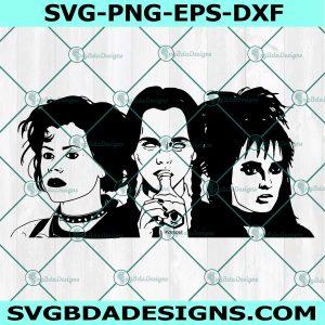 Horror Girls SVG, Horror Girls, Wednesday Addams SVG, Lydia Deetz SVG, Nancy Downs SVG, Halloween Svg Cricut, Digital Download