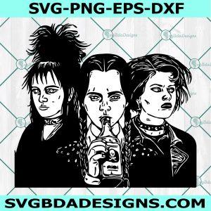 Wednesday Addams Lydia Deetz Nancy Downs Svg, Cricut, Digital Download