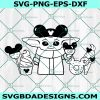 Baby Yoda snacks Svg, Disneyland , Star Wars The Mandalorian, Cricut, Digital Download