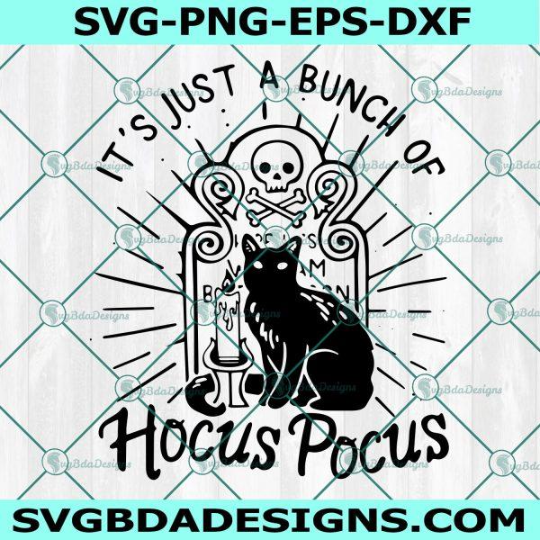 Black Cat Hocus Pocus Svg, Black Cat Halloween Svg, Black Cat Svg, Happy Halloween Svg, Cricut, Digital Download