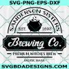 Brewing Co SVG, Sanderson Sisters Svg, Hocus Pocus svg, Brewing Co, Halloween SVG, Cricut, Digital Download