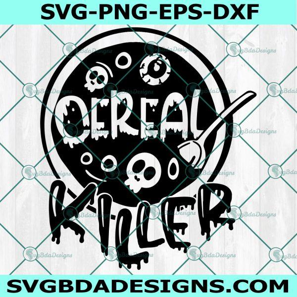 Cereal Killer SVG, Kids Halloween svg, Cereal Serial Killer Joke Svg