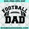Football Dad svg, Football svg, Dad svg, Football Daddy svg, Cricut, Digital Download