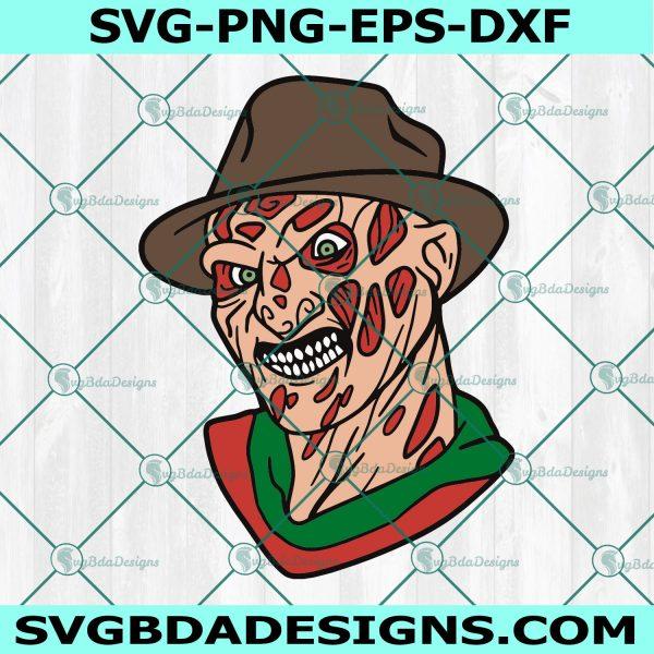 Freddy Krueger Svg, Freddy Krueger, Horror Movies Svg, Horror Character Svg, Halloween Svg, Cricut, Digital Download