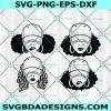 Girl With Cap Bundle Svg, Girl With Cap Bundle, Black Girls Svg, Celebrate Black History svg,Black Girl Magic svg , Cricut, Digital Download