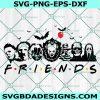 Halloween Friends SVG, Michael Myers SVG, Halloween Svg, Chucky svg, Scary Friends Svg, Horror Movie Killers Svg, Cricut, Digital Download