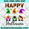 Happy Halloween Gnomes, Kids Halloween, Trick or Treat Svg, Happy Halloween Svg,Cricut, Digital Download