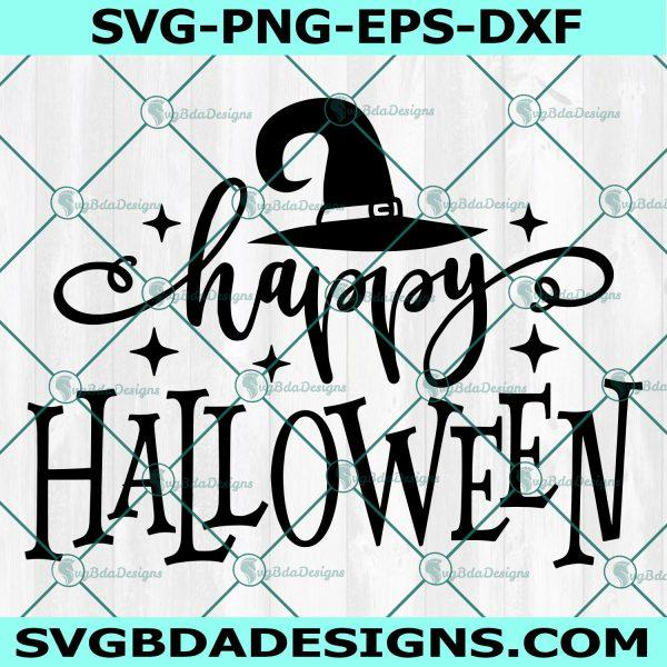 Happy Halloween Witch Svg, Witch hat svg, Witch svg,Halloween SVG, Cricut, Digital Download