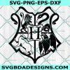 Hogwarts Crest Svg, Harry Potter Svg, Hogwarts Svg, Halloween Svg, Cricut, Digital Download