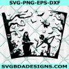 Jack & Sally Full wrap Svg, Starbucks Svg, Jack Skellington Svg, Halloween Full Wrap Svg , Cricut, Digital Download