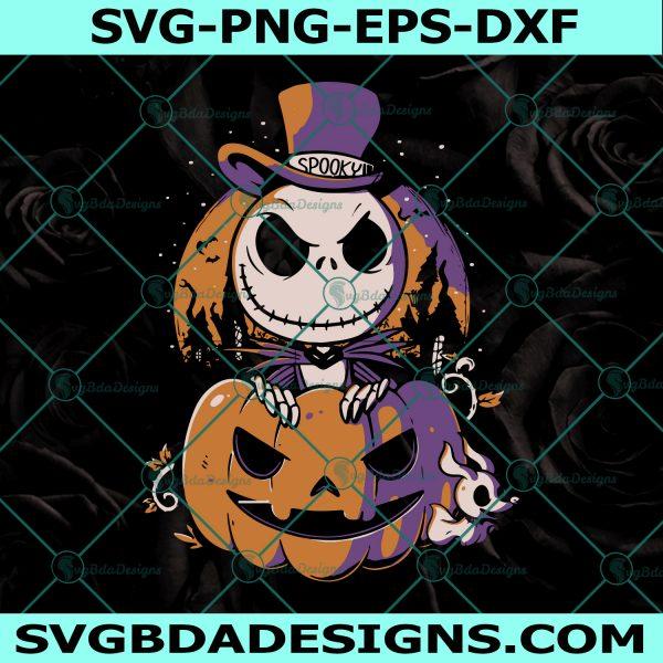 Jack Skellington Pumpkin Svg, Jack Skellington Pumpkin, Jack And Sally Svg, The Nightmare Before Christmas, Halloween svg, Cricut, Digital Download