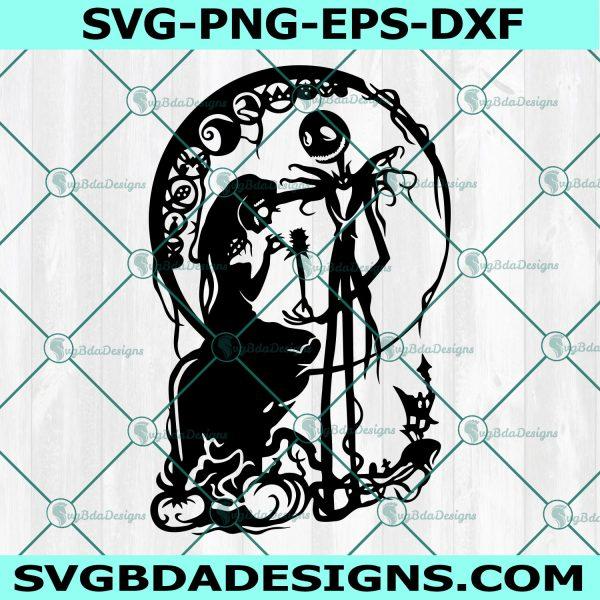 Jack and Sally svg, Jack Sally Boogieman, jack skellington svg, Nightmare Before Christmas Svg, Halloween SVG, Cricut, Digital Download