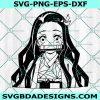 Kamado Nezuko SVG, Demon Slayder Svg, Anime Svg, Japan Anime Svg, Cricut, Digital Download