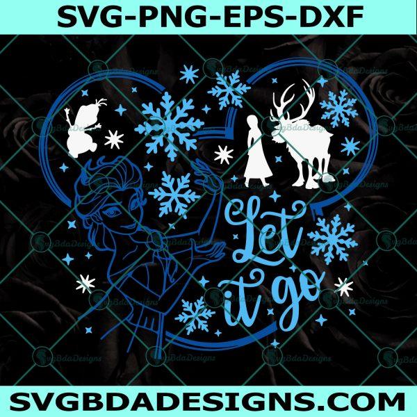 Let it Go Svg, Frozen Svg, Frozen Disney Svg, Elsa Anna Svg, Disney Quote Svg, Disney Svg, Cricut , Digital Download