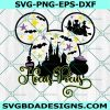 Magic Castle Hocus Pocus, Magic castle svg, Minnie teacher svg, Christmas Svg,Halloween svg, mouse svg , Cricut, Digital Download