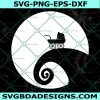 Maternity SVG, Nightmare Jack and Sally Pregnant Maternity, Halloween SVG, Cricut, Digital Download