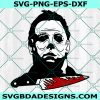 Michael Myers SVG, Michael Myers, Halloween Svg, Horror Movie Killers Svg, Cricut, Digital Download