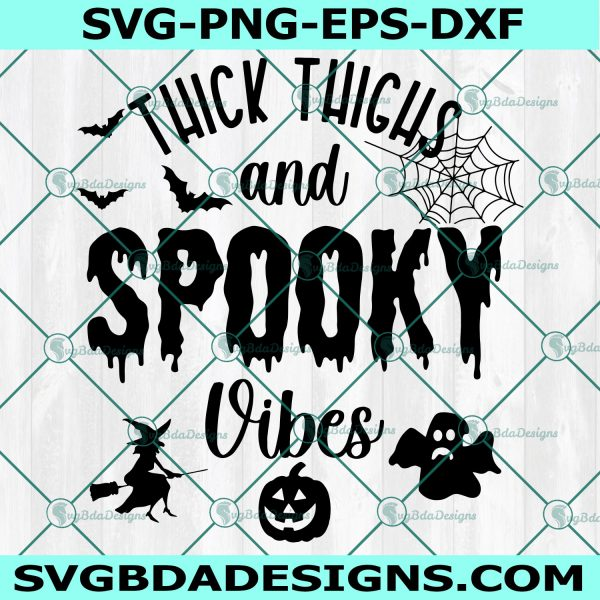 Witch Vibes Svg, Witch Vibes, Pumpkin Svg, Witches Svg, Ghost Svg, Halloween Svg, Sihouette, Cricut, Digital Download