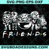 Starwars Friend Svg, Starwars Friend, Starwars Svg, Baby Yoda Svg, Cricut, Digital Download