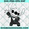 Stitch Jack skellington Svg, Stitch Jack skellington, Stitch Svg, Disney svg, Halloween Svg, Cricut, Digital Download