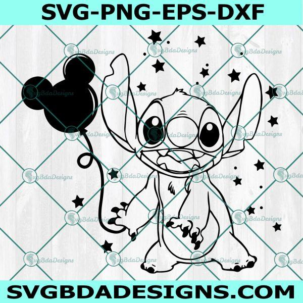Stitch with a balloon svg, Lilo and Stitch SVG, Stitch SVG, Disney SVG,Cricut, Digital Download
