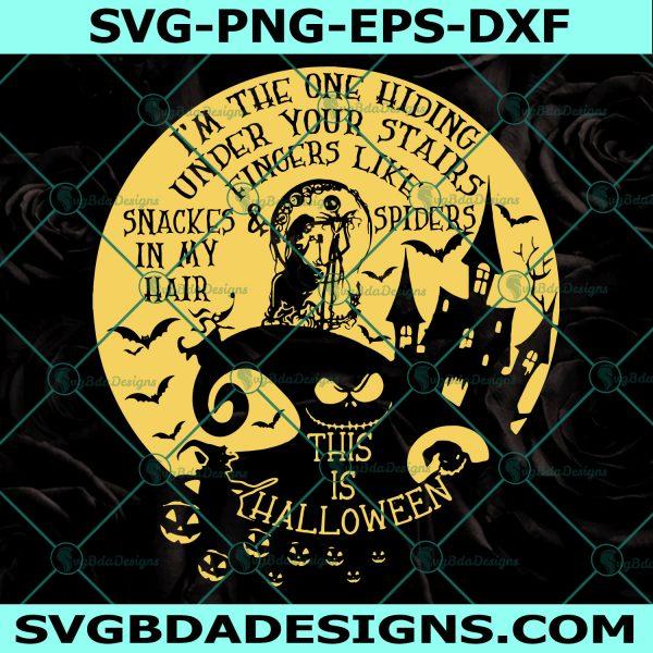 This Is Halloween Svg, The Nightmare Before Christmas Ssvg, Jack Skellington svg, Jack & Sally svg, King of Halloween, Oogie, Boogie, Barrel, Zero, Cricut, Digital Download