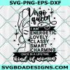 Virgo Queen Svg, Birthday Queen Svg, Black Women Svg, Afro Girl Svg, Cricut, Digital Download