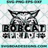 Bobcat Pride Svg, Team Spirit SVG, Bobcat Pride Game Sport svg, School Football Baseball Svg, Cricut, Digital Download