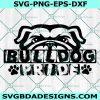 Bulldog Pride Svg ,Bulldog Mascot Svg, Bulldog Pride, Dogs Svg,High School Mascot SVG, School Spirit SVG, Cricut, Digital Download