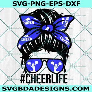 Cheer Life Svg, Cheerleader Svg, Cheer Svg, Cheerleading Svg, Cricut, Digital Download