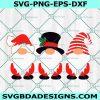Christmas Gnomes svg, Snow svg, Santa svg, Merry Christmas Svg, Cricut, Digital Download