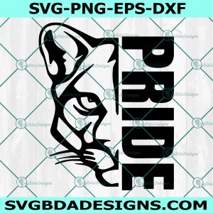 Cougar Pride HighSchool Svg, Cougar Mascot Svg, School Spirit Svg, Cougar Svg,Cricut, Digital Download