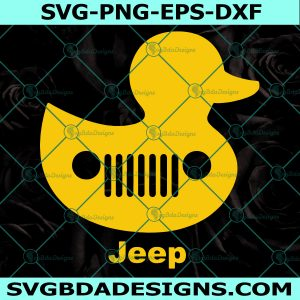 Duck Jeep Svg, Duck svg, Jeep Svg, Cricut, Digital Download