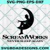 Freddy Krueger ScreamWorks svg, Never sleep again svg, A Nightmare on Elm Street svg, Elm Street svg, Horror movie SVG, Halloween SVG, Cricut, Digital Download