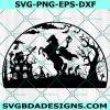 Headless Horseman SVG, Halloween Wall Decor, Sleepy Hollow Monster Svg, Halloween Svg, Cricut, Digital Download