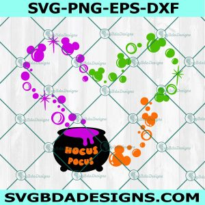 Hocus Pocus Mickey Ears SVG, Fall 2021 Mouse Halloween svg, Mickey Mouse Svg, Disney Svg, Cricut, Digital Download