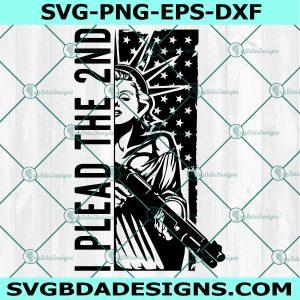 I Plead The 2nd Svg, Support The Second Amendment SVG, Cricut, Digital Download