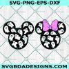 Mickey Minnie Heads Ghosts Svg ,Halloween Svg, Minnie Mouse svg, Mickey Mouse Svg, Disney Svg, Cricut, Digital Download