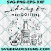 Practical Magic SVG, Midnight Margaritas Svg, Witch Svg, HalloweenSvg, Cricut, Digital Download