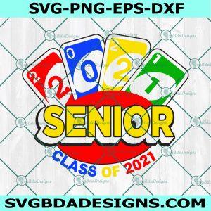 Senior Uno 2021 svg, Senior Uno graduation svg, School Svg, Cricut, Digital Download