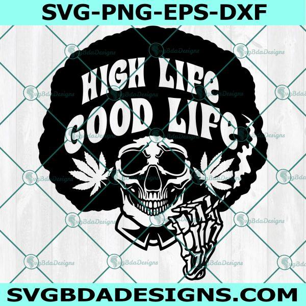 Skull Smoking Weed SVG, Dope Skull svg, Cannabis Skull svg, Smoking Skull svg, Cannabis svg, Weed svg, Cricut, Digital Download