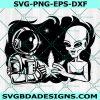 Smoking Alien SVG Files, Cannabis Alieng svg, Stoned Alien svg, Alien Smoking Joint svg, Alien svg, Weed svg,Cricut, Digital Download