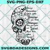 Sugar Skull Svg, Skeleton Svg, Day of the Dead Svg