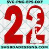 Twenty Two a Day svg, 22 A day Svg, Auto Decals, Vinyl Decals, Printing, Cricut, Digital Download