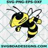 Yellow Jackets Hornet SVG, Bee svg, Hornet Mascot svg, Wasp SVG,Cricut, Digital Download