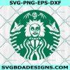 Beetlejuice Starbucks svg, Horror Movies svg, Halloween SVG, Horror Movies Character Svg, Cricut, Digital Download