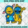 Cartoon characters Friends SVG, Pooh Bear Svg, Stitch Pikachu Svg, Pikachu Svg, Cartoon Character Svg, Cricut, Digital Download
