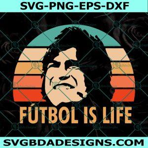Futbol is Life Svg, Ted Lasso Svg, Ted Lasso AFC Richmond Svg, Dani Rojas Futbol is Life Svg, Cricut, Digital Download