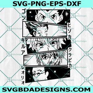 Hunter X Hunter Svg, Anime Love Svg, Manga Svg, Anime Movies Svg, Cricut, Digital Download